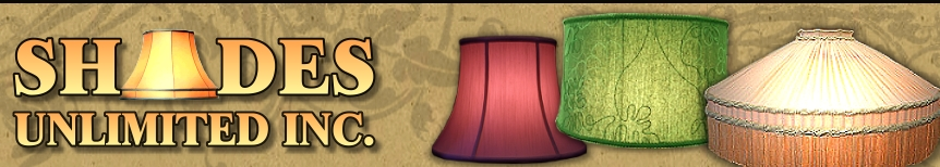 Lampshade Recovering by Shades Unlimited Inc